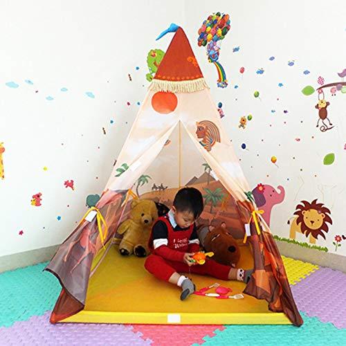 chora Tipis para Niños Habitacion Tipi Infantil Tienda Tipi Play para Niños Exterior Oxford Paño Niños Zodiaco Nativo Adecuado para Niños Casa De Juegos Casa De Juegos para Padres E Hijos 100 130 Cm