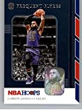 2019-20 NBA Hoops Frequent Flyers #15 LeBron James Los Angeles Lakers Official Panini Basketball Trading Card Retail Exclusive Insert