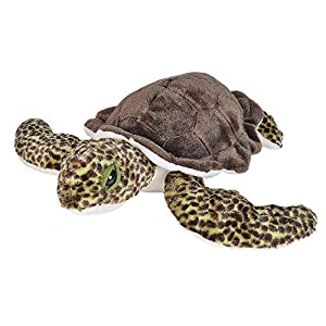 Wild Republic Sea Turtle Plush, Stuffed Animal, Plush Toy, Gifts for Kids, Cuddlekins 12 Inches - 51 BovakgLL - Wild Republic Sea Turtle Plush, Stuffed Animal, Plush Toy, Gifts for Kids, Cuddlekins 12 Inches