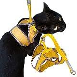 猫用ハーネス ダブルブロックタイプ Mサイズ ゴロにゃんオリジナル マスタードイエロー Mサイズ