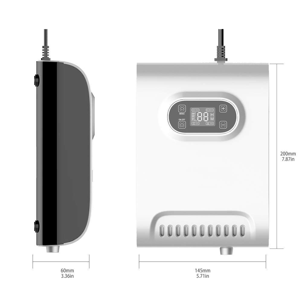 DCHOUSE Generador de ozono 600 MG/h Esterilizador de Frutas y ...