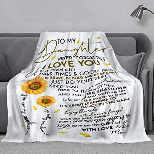 MADISON GRIFFITHS Sunflower Love Letter to My Daughter Ultra-Soft...