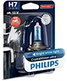 Philips 12972CVUBW Crystalvision Ultra Moto H7...