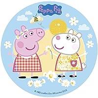 Dekora Peppa Pig Disco de Azúcar - 15 gr