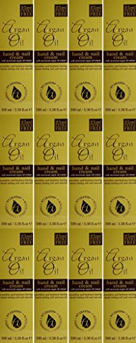 TWELVE PACKS of Argan Oil Hand & Nail Cream 100ml