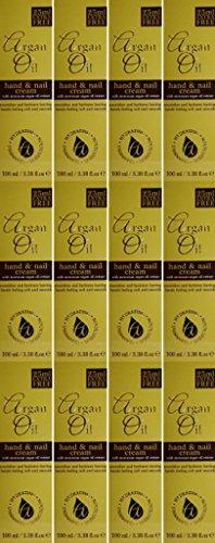 TWELVE PACKS of Argan Oil Hand & Nail Cream 100ml