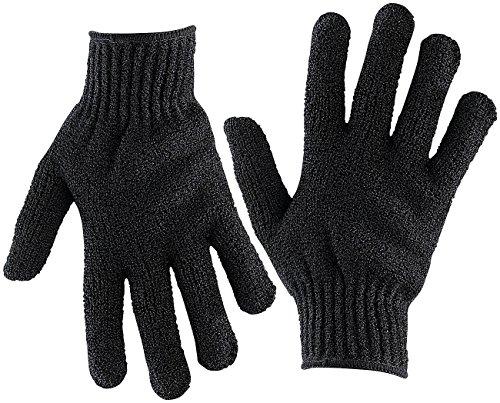 newgen medicals Hornhaut Handschuh: 1 Paar Peeling-Handschuhe, Einheitsgröße (Peelinghandschuhe)