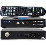 OCTAGON SX89WL HD H.265 S2+IP HEVC Set-Top Box - Receptor de Internet Smart TV, lector de tarjetas, reproductor multimedia, DLNA, YouTube, radio web, aplicación iOS y Android, USB PVR, 150 Mbits WiFi