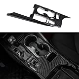 XHQ for Camry Gear Shift Console Panel Trims Cover ABS Plastic Fit for Toyota Camry XLE XSE All Hybrid Edition 2021 2020 2019 2018 Cup Holder Decoration Carbon Fibre