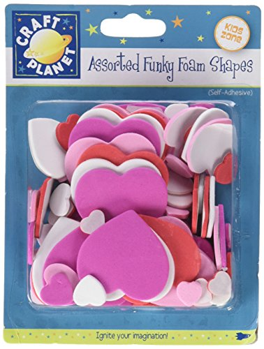 Docrafts Craft Planet Assorted Self Adhesive Funky Foam Shape Letters CPT80506
