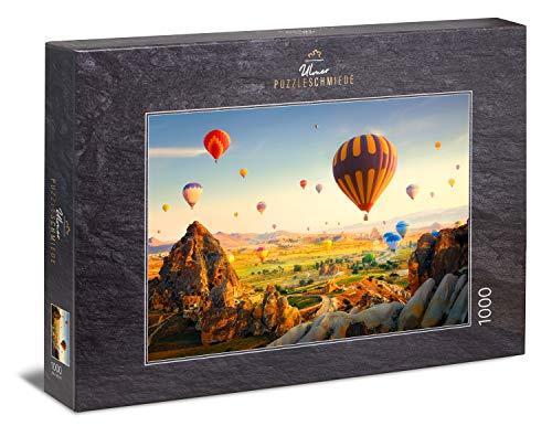Ulmer Puzzleschmiede - Puzzle Viaggio da Favola - Immagine pittoresca dalla Cappadocia in Turchia con Le Famose mongolfiere