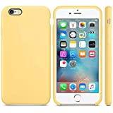 Mcart Slim Fit Liquid Silicone Gel Rubber Shockproof Case with Soft Microfiber Cloth