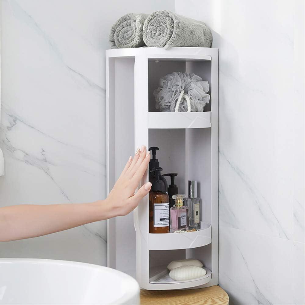 Amazon.de Badezimmer Eckregal, Küche, Badezimmer, drehbares Regal ...