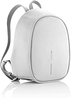 The Original Genuine XD Design Bobby Elle antirrobo Mochila Anti-Theft Backpack (Women's Bag), Light Grey
