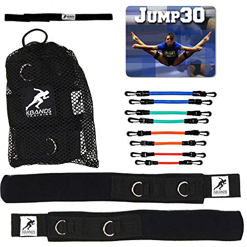 Kbands Cheer Bands (Cheer Resistance Bands, Stunt Strap, and Jump30 Digital Trainer) (User is More Then 110 Ibs)