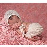binlunnu recién nacido fotografía Props Boy Girl Crochet Costume Outfits...