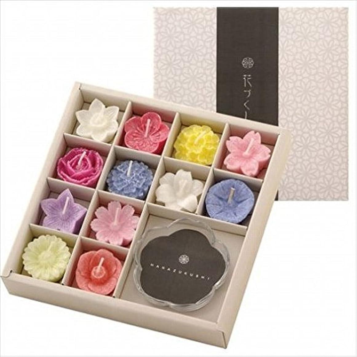 印象的傘熱心なkameyama candle(カメヤマキャンドル) 花づくしギフトセット(植物性) キャンドル(96200700)
