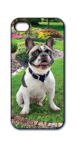 Dimension 9 Slim 3D Lenticular Cell Phone Case for Apple iPhone 5 or iPhone 5s - French Bulldog, Dog Breed