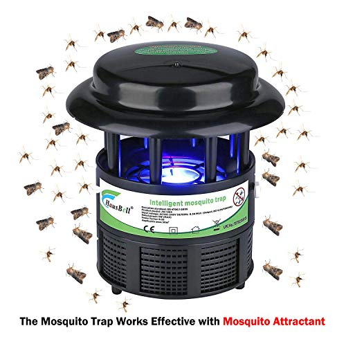 HAUSBELL Mosquito Killer Lamp, Bug Zapper, Mosquito Trap, Pests Trap, Bug Control Inhaler, USB...
