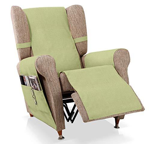 JM Textil Sesselschoner Relax GEA Größe 1 Sitzer (55 cm), Farbe Grün