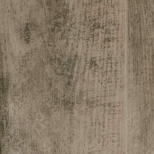 BODENMEISTER BM72618 Vinylboden PVC Bodenbelag Meterware 200, 300, 400 cm breit, Holzoptik Eiche hell Vintage antik