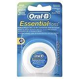 Hilo Dental Oral B Essential Floss Mint sin encerar 50 mtr