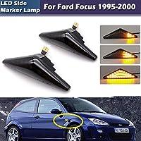 AL 2ピース ダイナミック アンバー LED フロント サイド マーカー ライト 対応車種: フォード/FORD用 モンデオ用 2000-2007 MK 3 AL-JJ-5886