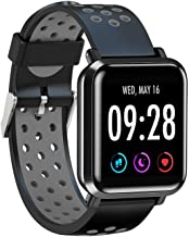 AQFIT Full Touch Multifunction Smart Watch W10 (Gray-Black)