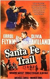 ArtFuzz Santa Fe Trail Movie Poster Print
