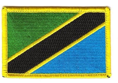 Flaggen Aufnäher Patch Tansania Fahne Flagge NEU