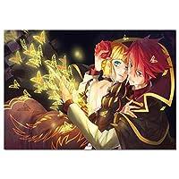 日本のアニメDIY5Dダイヤモンド絵画クロスステッチフルドリルクリスタルラインストーン刺繡写真アートクラフト家の壁の装飾ギフト