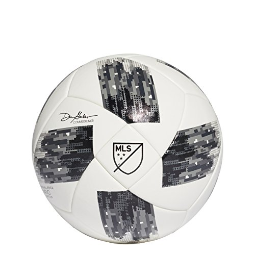 adidas 18 Nfhs MLS Competition Soccer Ball 5 White/Black