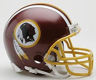 washington redskins leather helmet