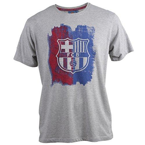 FCB BARÇA Camiseta Painted Gris Vigore T-XL