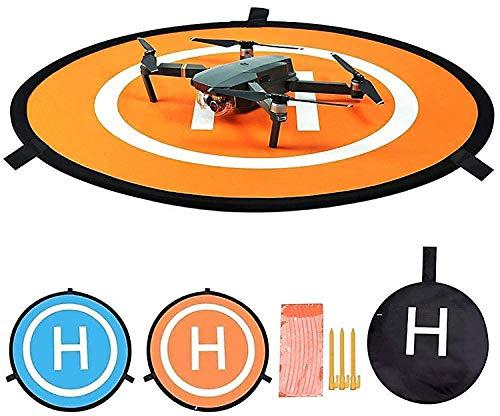 Fstop Labs Drone and Quadcopter Landing Pad Accessories 21 Inch, Waterproof Nylon Compatible with DJI Tello Mavic Phantom 3 4 Spark Mavic 2 Pro Zoom Air