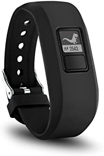 TERSELY Band Strap for Garmin Vivofit JR 3 Junior 2, Soft Silicone Metal Clasp Buckle Wrist Strap Watch Band Bracelet for ...
