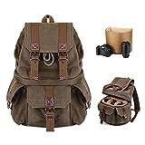 Kattee Fashion Canvas Camera Backpack DSLR SLR...