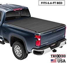 TruXedo TruXport Soft Roll Up Truck Bed Tonneau Cover | 272001 | fits 14-18, 2019 Limited/Legacy GMC Sierra & Chevrolet Silverado 1500, 2500HD, 3500HD 6'6