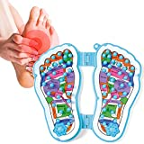FENGO Foot Massager, Acupressure Foot Massager,soothe foot/ heel pain & sore & tension due to plantar fasciitis,arthritis, neuropathy and other ailments by reflexology,Relaxation Gifts for Men, Women.