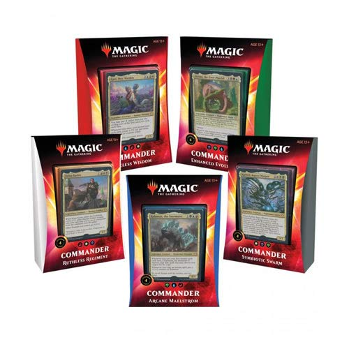 Magic The Gathering - Ikoria: Lair of The Behemoth - Commander Deck | Auswahl | English | Set inkl. Kartenspiel