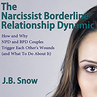 The Narcissist Borderline Relationship Dynamic audiobook cover art