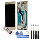 Visiodirect Ecran Complet: Vitre + LCD Compatible avec Huawei P8 Lite 2017 / P9 Lite 2017 Or + Kit...