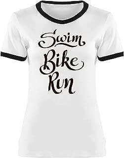 Swim Bike Run Graphic Tee Women's -Image by Shutterstock