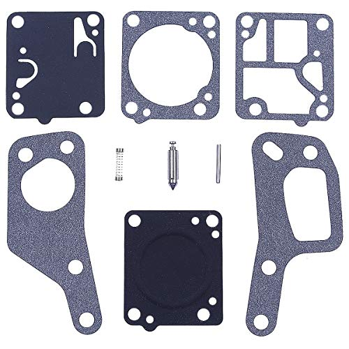Adefol Vergaserdichtungs-Reparatursatz für McCulloch Mini Mac 110 120 130 140 Kettensäge Ersatzteile für Zama RB19 M1 M7
