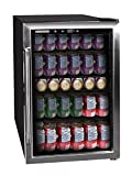 Frigidaire EFMIS155 Beverage Center-126 Cans-Full Stainless Steel, 126-CAN, Stainless