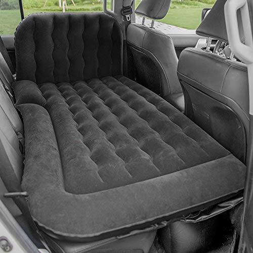 Emoshayoga Colchón de Aire Almohadilla para Dormir Accesorio para Acampar Cojín de Descanso Engrosado para Varios automóviles para Uso al Aire Libre para Dormir para vehículos(Black)