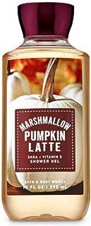 Bath & Body Works Shea & Vitamin E Body Shower Gel Marshmallow Pumpkin Latte 10 Oz