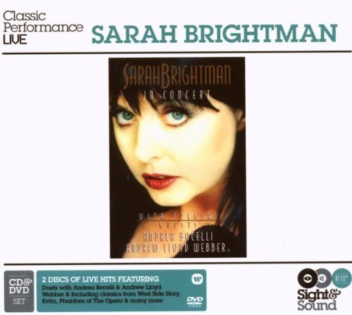 Sarah Brightman In Concert featuring Andrew Lloyd Webber & Andrea Bocelli (CD+DVD) (2008-07-15)