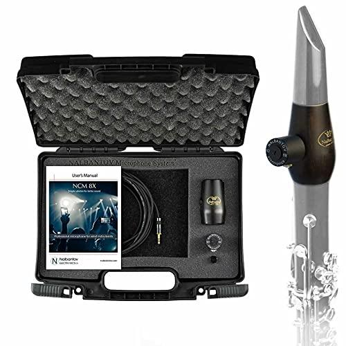 Nalbantov Micrófono para clarinete NCM 8X SC Set + NK4 para...
