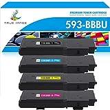 True Image Cartucho de tóner compatible para Dell 593-BBBU 593-BBBT 593-BBBR...